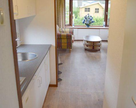 Prachtig ruim chalet met 2 slaapkamers met zonnige tuin op rustig 45 plus chaletpark THE HAP in Voorthuizen (14)