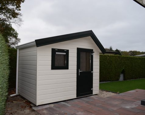 Dubbel chalet 50 vierkante meter met onderhoudsarme tuin en eigen parkeerplaats (18)