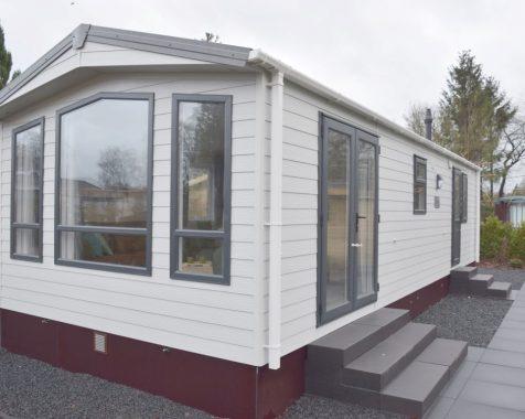 Nieuw chalet 1000×370 op 45+park in het entree van de Veluwe op chaletpark The Hap in Voorthuizen (1)