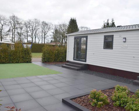 Nieuw chalet 1000×370 op 45+park in het entree van de Veluwe op chaletpark The Hap in Voorthuizen (4)