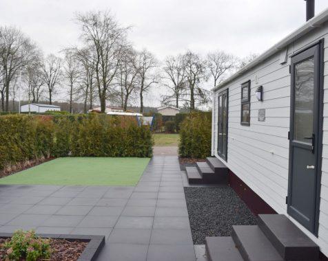 Nieuw chalet 1000×370 op 45+park in het entree van de Veluwe op chaletpark The Hap in Voorthuizen (5)