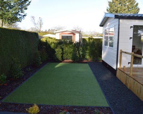Prachtig nieuw chalet, compleet gemeubileerd in groene omgeving met onderhoudsarme tuin te zien op Chaletpark THE HAP in Voorthuizen (10)