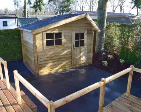 Prachtig nieuw chalet, compleet gemeubileerd in groene omgeving met onderhoudsarme tuin te zien op Chaletpark THE HAP in Voorthuizen (22)