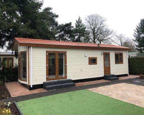 Prachtige chalet met 2 slaapkamers instapklaar met onderhoudsarme uit op rustig 45plus park in Voorthuizen (35)