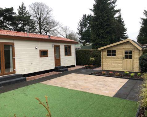 Prachtige chalet met 2 slaapkamers instapklaar met onderhoudsarme uit op rustig 45plus park in Voorthuizen (36)