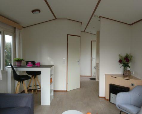 Prachtige chalet met 2 slaapkamers instapklaar met onderhoudsarme uit op rustig 45plus park in Voorthuizen (53)